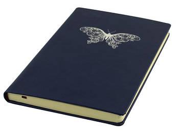 Блокнот A5 Vivella Метелик т.-сін. №О20800-24/Optima/