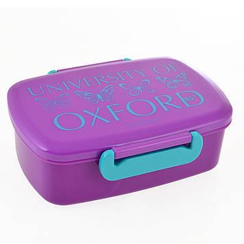 "Ланч бокс пласт. ""Yes"" 750мл Oxford Butterflies №706856(12)"