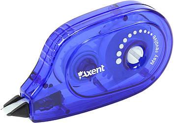 """Коректор стрічк. """"Axent"""" 5ммх6м,синій №7009-02(1)(48)"""