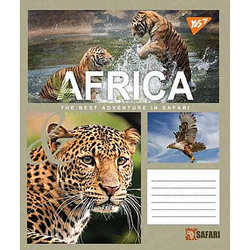 Зошит 60арк. лін. YES Safari №763858(10)(160)