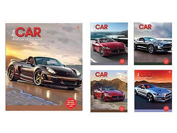Зошит 60арк. лін. ЗУ Best cars-17 №795453(10)(160)