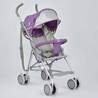 Коляска-трость JOY 108 S Фиолетовая