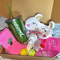 "Подарочный бокс для девочки WOW BOXES  ""Llama box"""