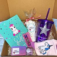 Подарочный бокс для девочки WowBoxes «Unicorn box»