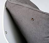 Кресло-качалка SERENITY (Серенити) серое Concepto (бесплатная доставка), фото 7