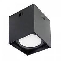 Светильник светодиодный Horoz Electric SANDRA-SQ10/XL накладной 10Вт 700Лм 4200К чёрный (016-045-1010)