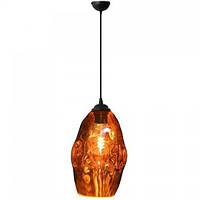 Светильник подвесной Horoz Electric METEOR овальный Е27 медный цвет плафона (021-014-0002), фото 1