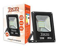 Прожектор світлодіодний Tecro TL-FL-20B 20Вт LED 1400Лм 6400К холодне світло (TL-FL-20B)