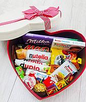 """Подарочный набор сладостей в коробке """"Бантик"""""""
