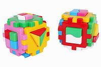 Кубик-сортер детский Логика Комби 03125