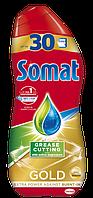 Гель для мытья посуды в посудомоечной машине Somat Gold анти-жир, 540 мл