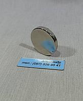 Постоянный магнит, диск 25х4 мм (7кг)