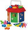 Кубик-сортер детский Домик с ключами 03135