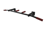 Турник наддверный SAB-Building цельносварной белый, черный, фото 2