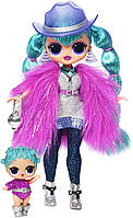 L.O.L. Surprise! O.M.G. Winter Disco Cosmic Nova Fashion Doll & Sister Кукла ЛОЛ ОМГ Зимнее диско Леди Галакти, фото 1