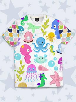 Детская футболка Водный мир