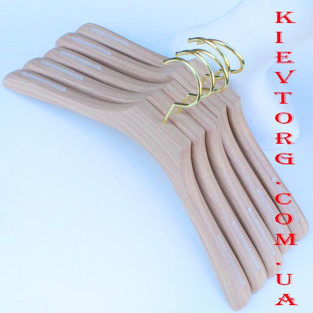 Вешалки плечики для верхней одежды акриловые, 44 см