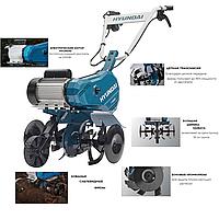 Электрокультиватор Hyundai T2000E , 2 кВт,Гарантия 1 год