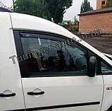 Ветровики, дефлекторы окон Volkswagen Caddy 2003- (Hic), фото 2