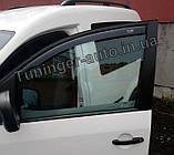 Ветровики, дефлекторы окон Volkswagen Caddy 2003- (Hic), фото 3
