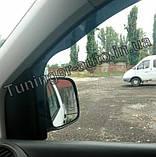 Ветровики, дефлекторы окон Volkswagen Caddy 2003- (Hic), фото 4