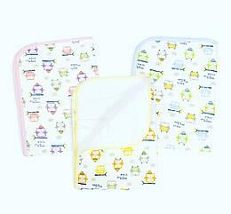 Детская непромокаемая пеленка Lindo  50х70 см