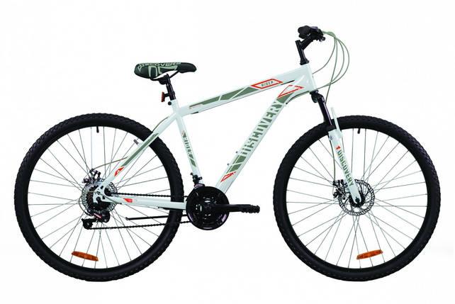 """Велосипед 29"""" Discovery RIDER DD 2020 (бело-красный с серым), фото 2"""