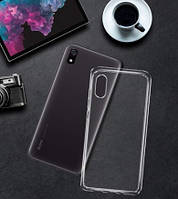 Чехол силиконовый для Xiaomi Redmi 7A  Прозрачный (ксиоми редми 7а)