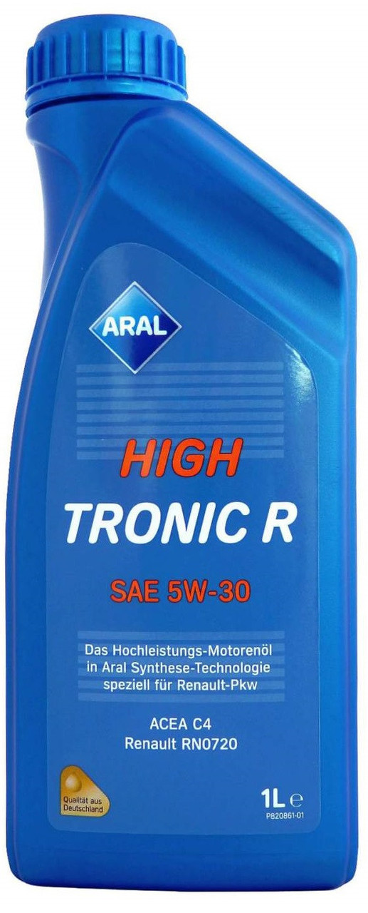 Моторное масло Aral HighTronic R 5W-30 1л
