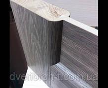 Двери Корфад Classico CL-07 со штапиком в цвете дуб табакко, дуб нордик., фото 3