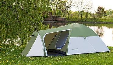 Палатка 4-х місна Presto Acamper MONSUN 4 PRO зелена - 3500мм. H2О - 4,1 кг., фото 2