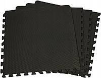 Захисний коврик SportVida Mat Puzzle 10 мм SV-HK0176 Black