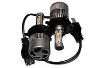 Комплект LED ламп HeadLight S2 H4 5000K 8000lm с вентилятором, фото 1