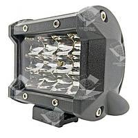 36W / 60 (12 x 3W / широкий луч, прямоугольный корпус) 2200 LM LED фара рабочая 36W, 12 ламп, 10-30V, 6000K, фото 1