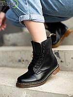 Женские кожаные ботинки Dr.Martens 1460 Мартинс
