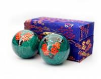 9290017 Массажные шары Баодинга пара Эмаль Сакура
