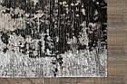 Ковер современный ALMINA 127514 1,6Х2,3 СЕРЫЙ прямоугольник, фото 4