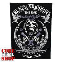 """Нашивка наспинная Black Sabbath """"The End"""" (world tour)"""