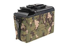 Magazynek pudełkowy 1200 kulek do repliki typu M249 - digital woodland [Classic Army] (для страйкболу)