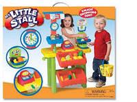 Детский Игровой Набор Мой Маленький Магазин с функциональной кассой, весами, деньгами и корзиной Keenway