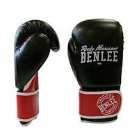 Боксёрские перчатки BENLEE Carlos 12 ун. (199155 / 1502) Черный/Красный/Белый