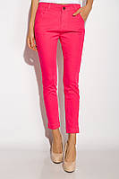 Стильные женские брюки из хлопка AG-0010820 цвет Ярко-розовый