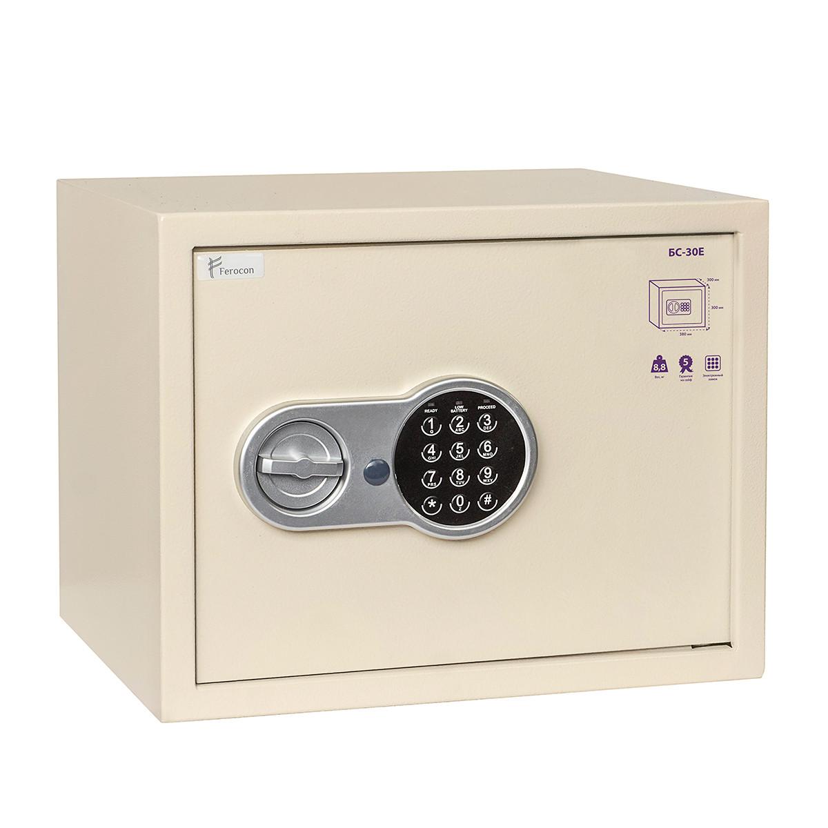 Сейф мебельный Ferocon БС-30Е.П1.1013 электронный замок