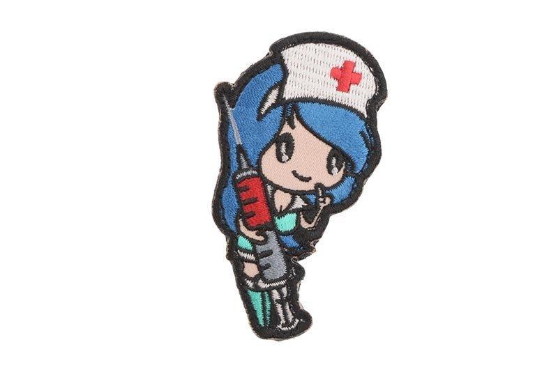 Naszywka Nurse Girl - niebieska [MIL-SPEC MONKEY] (для страйкбола)