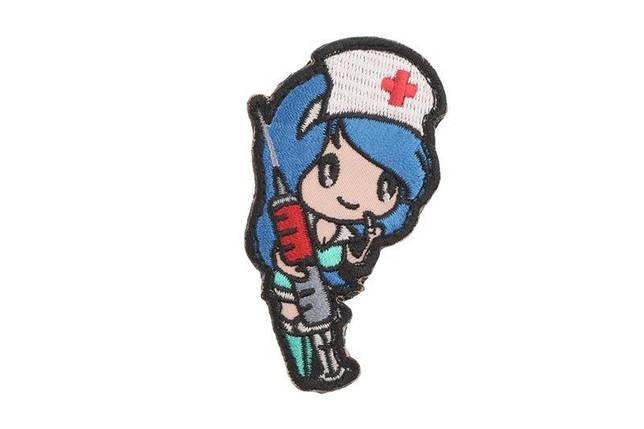 Naszywka Nurse Girl - niebieska [MIL-SPEC MONKEY] (для страйкбола), фото 2