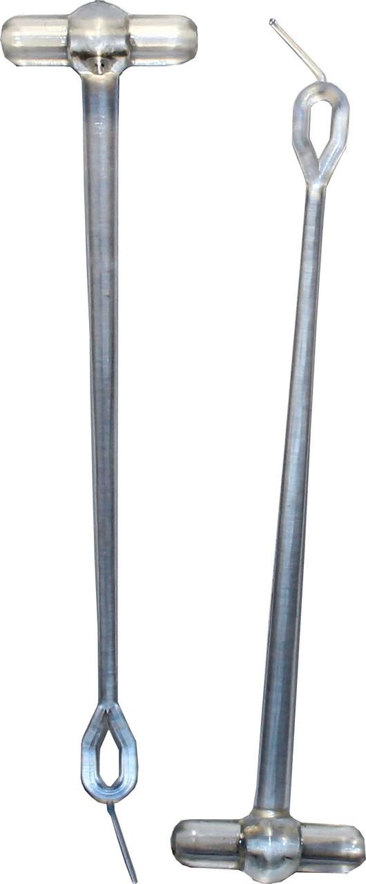 Отвод поликарбонат боковой