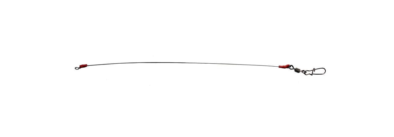 Повідець Master SP н/ж 0,4 мм американка з вертлюгом (5шт)