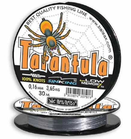 Волосінь Balsax Tarantula 30m темно-сіра