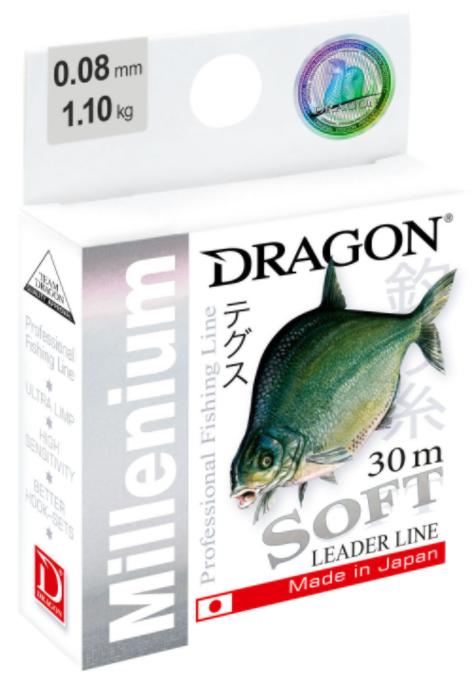 Волосінь Dragon Millenium Soft 30м