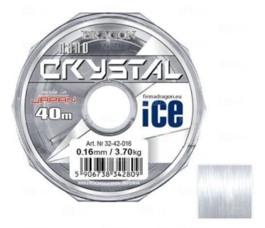 Леска Dragon NanoCrystal Ice40м